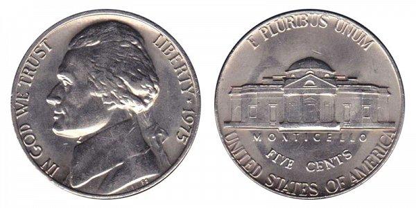 1975 Jefferson Nickel
