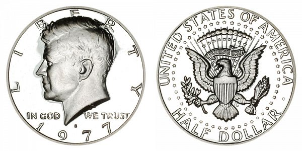 1977 S Kennedy Half Dollar Proof