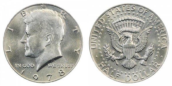 1978 Kennedy Half Dollar