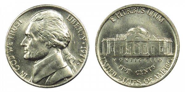 1979 D Jefferson Nickel