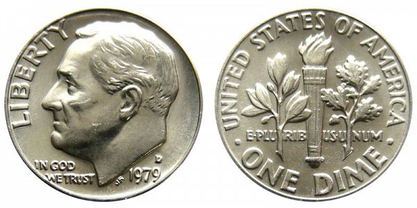 1979 D Roosevelt Dime