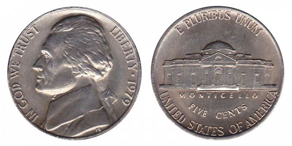 1979 Jefferson Nickel