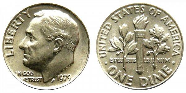 1979 Roosevelt Dime