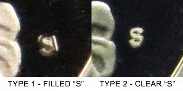 1979 S Washington Quarter - Type 1 vs Type 2