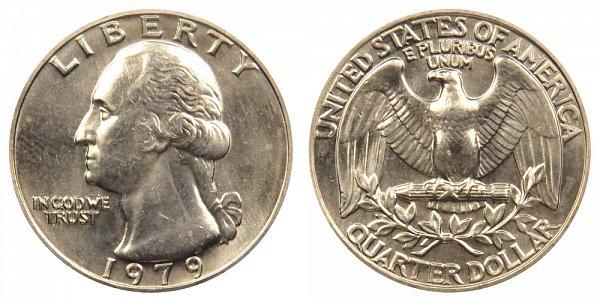 1979 Washington Quarter