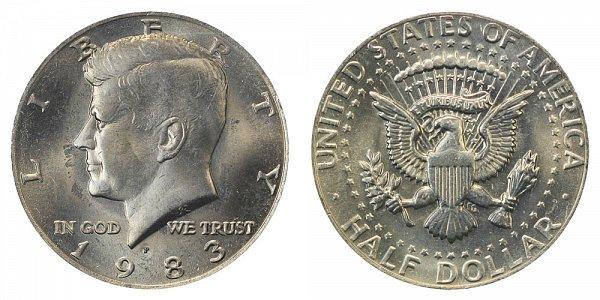 1983 P Kennedy Half Dollar