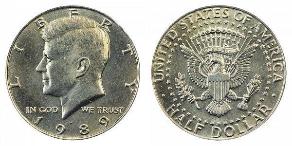 1989 P Kennedy Half Dollar
