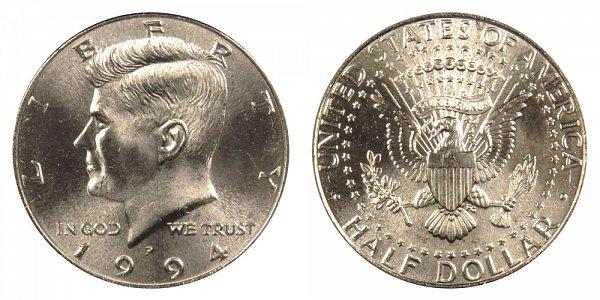 1994 P Kennedy Half Dollar