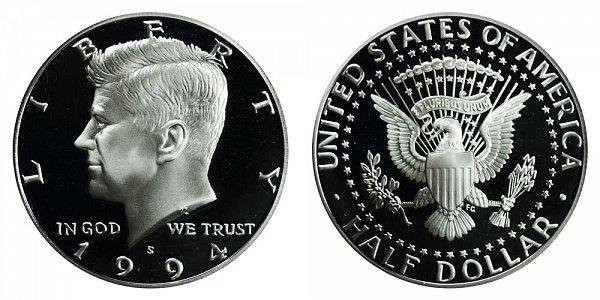 1994 S Silver Kennedy Half Dollar Proof
