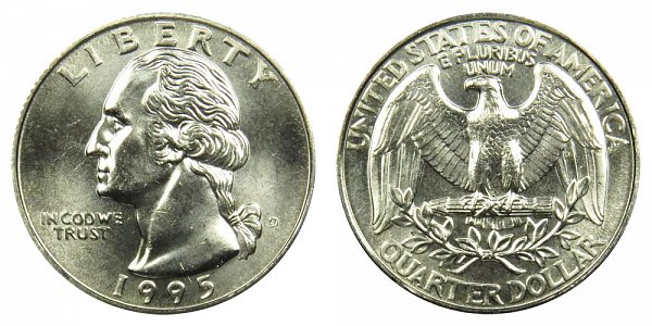 1995 D Washington Quarter