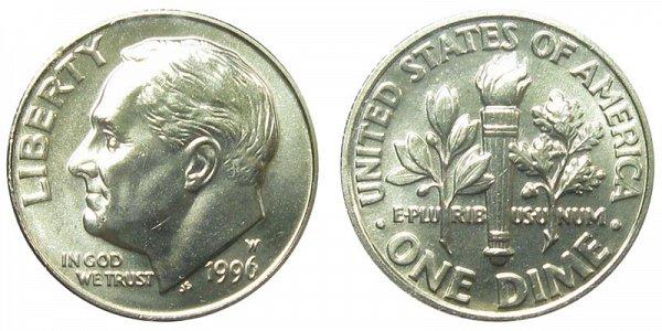 1996 W Roosevelt Dime