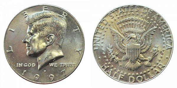1997 P Kennedy Half Dollar