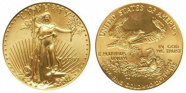 1997 Quarter Ounce American Gold Eagle - 1/4 oz Gold $10