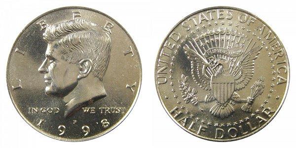 1998 P Kennedy Half Dollar