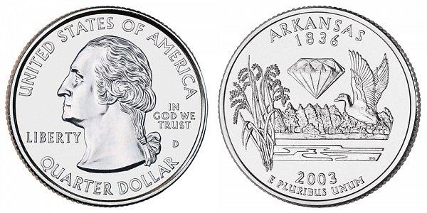 2003 D Arkansas State Quarter