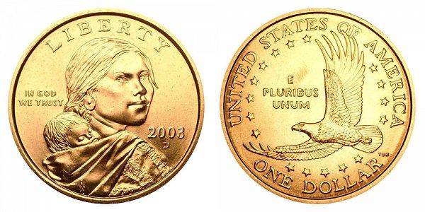 2003 D Sacagawea Dollar