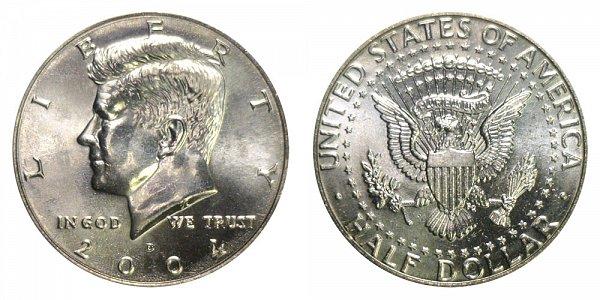 2004 D Kennedy Half Dollar