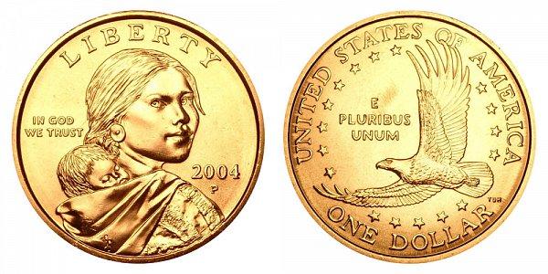 2004 P Sacagawea Dollar