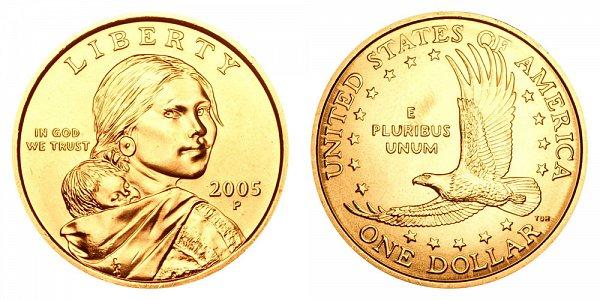 2005 P Sacagawea Dollar