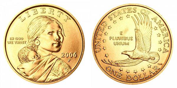2006 P Sacagawea Dollar