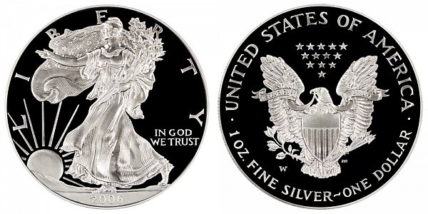 2006 W Proof American Silver Eagle
