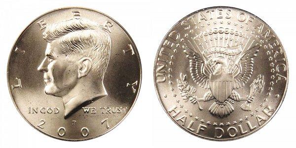 2007 P Kennedy Half Dollar