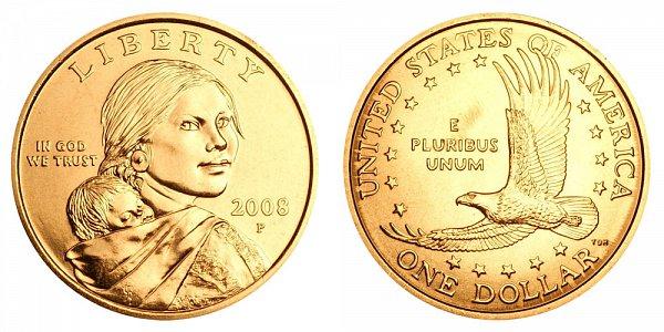 2008 P Sacagawea Dollar