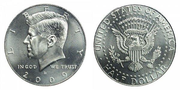 2009 D Kennedy Half Dollar
