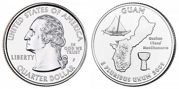 2009 P Guam Quarter