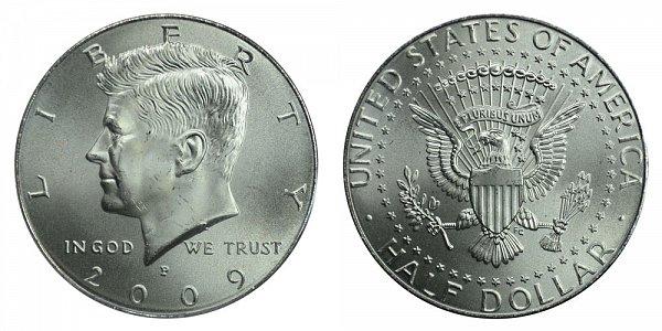 2009 P Kennedy Half Dollar