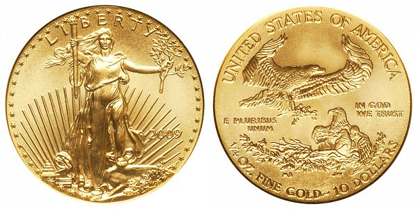 2009 Quarter Ounce American Gold Eagle - 1/4 oz Gold $10