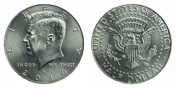 2010 D Kennedy Half Dollar