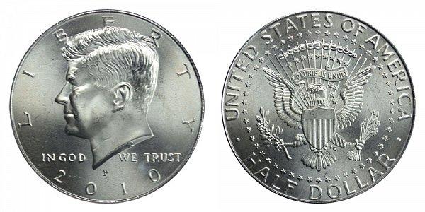2010 P Kennedy Half Dollar