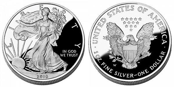 2010 W Proof American Silver Eagle