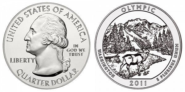 2011 Olympic 5 Ounce Bullion Coin - 5 oz Silver