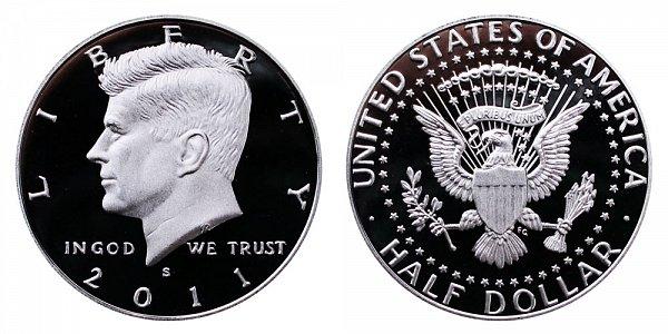 2011 S Silver Kennedy Half Dollar Proof