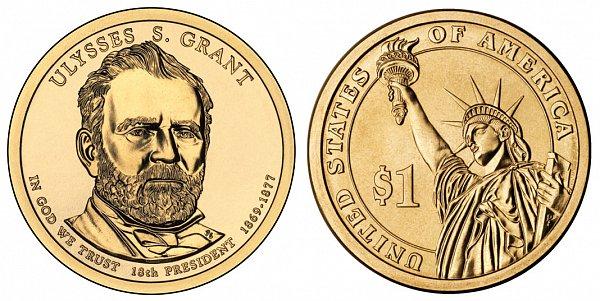 2011 P Ulysses S. Grant Presidential Dollar Coin