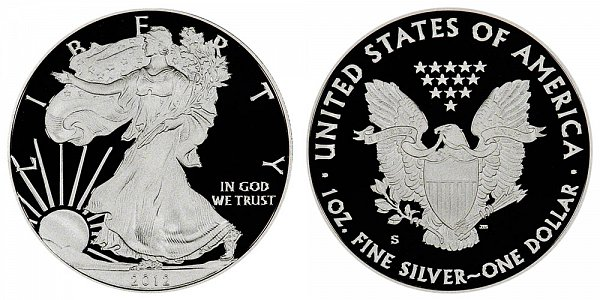 2012 S Proof American Silver Eagle