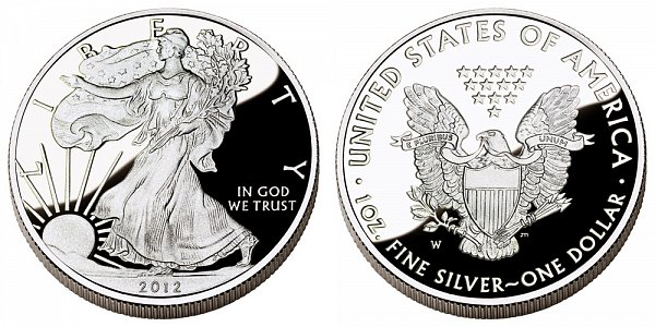 2012 W Proof American Silver Eagle