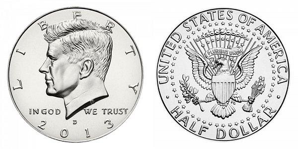 2013 D Kennedy Half Dollar