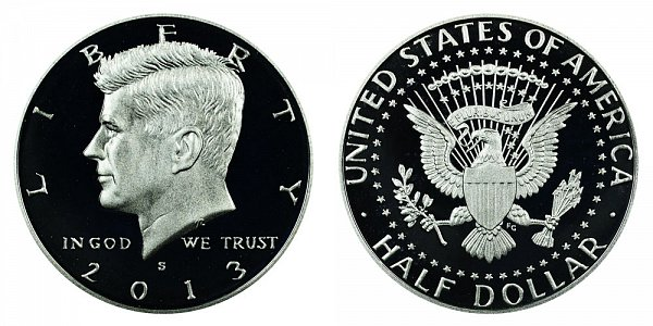 2013 S Silver Kennedy Half Dollar Proof