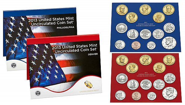 2013 Uncirculated Mint Set - Denver and Philadelphia