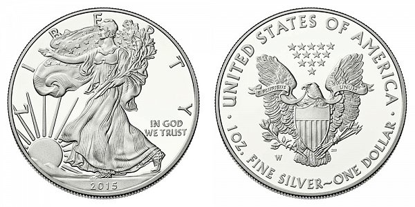 2015 W Proof American Silver Eagle