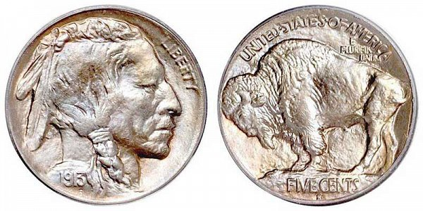 Buffalo Nickels Mound Type US Coin