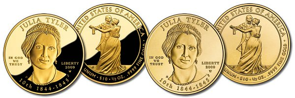 First Spouse Bullion Coins $10 Half Ounce Gold US Coin