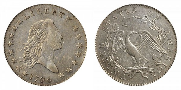 Flowing Hair Half Dollars Early Silver Half Dollars US Coin