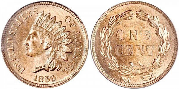 Indian Head Penny design by James Longacre