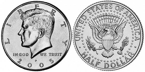 Kennedy Half Dollars 90% Silver Composition US Coin