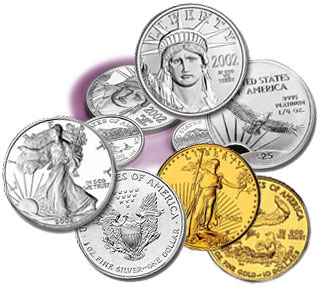 US Bullion Eagle Coins