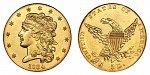 Classic Head Gold $5 Half Eagle